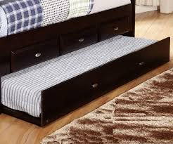 Daybed With Bookcase Espresso Full Size Bookcase Captain U0027s Day Bed With Trundle Day