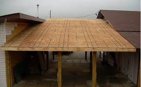hobby workshop projects roof decking installed