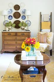 Quick Living Room Decor Fall Diy Decorating Ideas On Sutton Place