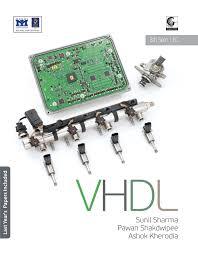 vhdl book for b tech viii semester books authors mr sunil sharma
