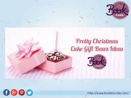 best christmas cake gift boxes