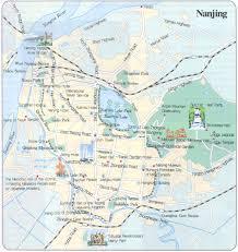 Detailed Map Of China by Nanjing Travel Maps 2010 2011 Printable Metro Subway And