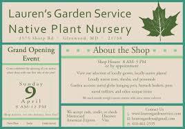 native plant nursery native plant nursery opening gardener and landscape designer