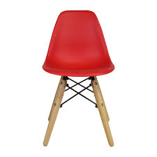 Austin Modern Furniture Stores by Charles Eames Dsw Kids Side Chair Mid Century Modern Red The