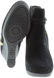 ugg australia alexandra water resistant suede wedge boot ugg australia alexandra wedge ankle boots cheap watches mgc gas com