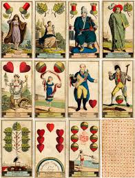 fortune telling deck c 1818 the world of cards