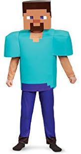 minecraft costume creeper deluxe minecraft costume green small 4 6