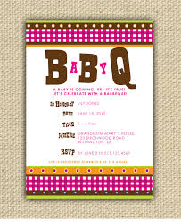 bbq baby shower ideas bbq baby shower invitations afoodaffair me