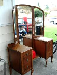 Antique Vanity With Mirror Interior Impressive Bedroom Furniture For Bedroom Decoration With