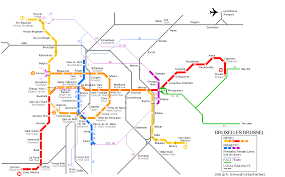 map brussels brussels map metro big the just george