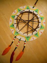 create art with mrs p super simple dream catcher from a paper plate