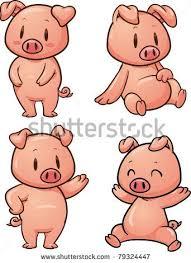 coloring elegant pig cartoon drawing drawings pigs 10