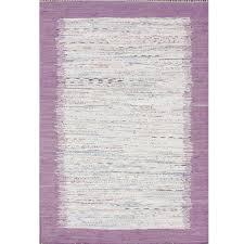 Cotton Flat Weave Rug Nuloom Kinderloom Flatweave Tasha Cotton Area Rug In Turquoise