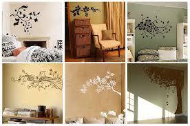 decorative painting ideas for walls with modern homes interior