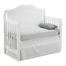 Fixed Side Convertible Crib Storkcraft 04587 151 Princess Fixed Side Convertible Crib In White