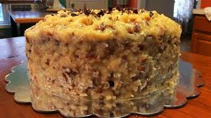 german chocolate cake layers home made chocolate cake layers