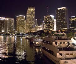 imagenes miami de noche cruceros bailables en miami cruceros con fiesta y cruceros