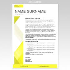 cover letter for resume layout