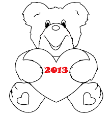 teddy bear in pajamas coloring page alltoys for
