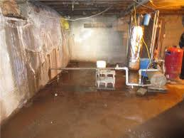 standing water in the basement is never a good thing