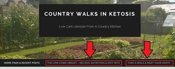 about this blog country walks in ketosis