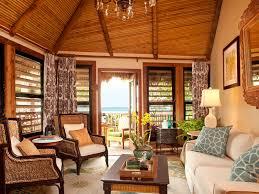 key west living room with blended furnishings key west luxury bungalow suites in fl keys little palm island resort