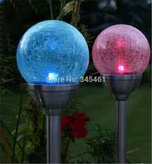 Colour Changing Solar Garden Lights - aliexpress com buy stainless steel solar lawn lights multicilor