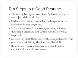 Good Title For A Resume Open The Door To Opportunity Resume Writing Primary Purpose A