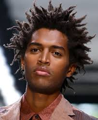curly hairstyles for men in particular distinctive model