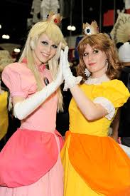 princess daisy halloween costume princess peach and princess daisy a photo on flickriver