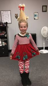 Dr Seuss Characters Halloween Costumes Cool Cindy Lou Homemade Girls Halloween Costume Cindy Lou