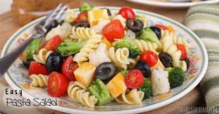 easy pasta salad totally the bomb com