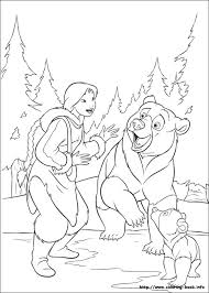 brother bear 2 coloring pages coloring book