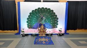 hindu decorations for home hindu wedding stage decorations walima nikaha prasangdecors com