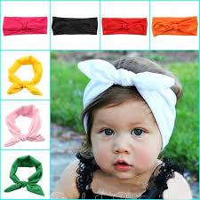 baby headwrap online shop new kidsheadband white knot tie headband headwrap