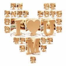 10x1 5cm thick wood wooden letters alphabet diy bridal buy universal 10x1 5cm thick wood wooden 26 letters wedding birthday