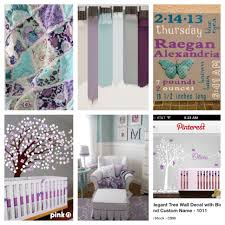 baby room themes not pink with purple and black color theme
