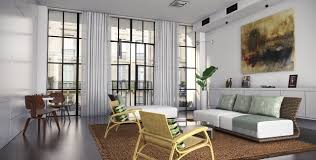 contemporary bright lounge interior design ideas