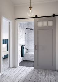 jeff lewis bathroom design craftsman style barn door kit jeff lewis design
