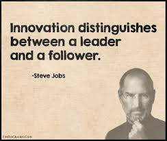 quote einstein innovation innovation distinguishes between a leader and a follower popular