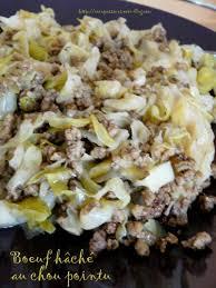 cuisiner chou pointu boeuf hâché au chou pointu bienvenue dans la cuisine de