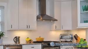 assembled kitchen cabinets ice white shaker rta cabinet hub