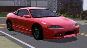 mitsubishi eclipse 1997 fresh prince creations 1997 mitsubishi eclipse sims 3 downloads