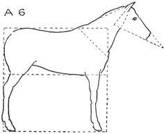 here u0027s how to draw a horse head horse shapes and horse drawing
