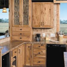 Rustic Kitchen Cabinets Pictures Sophisticated And Urbane Rustic Hickory Cabinets Tedxumkc Decoration