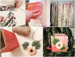 home decorating ideas cheap easy cheap diy home decor idea vase magazine rolls light homes