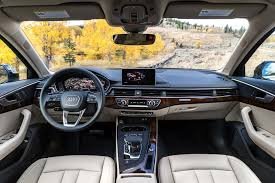 Audi A4 B6 Custom Interior 2017 Audi A4 Allroad First Drive Review Motor Trend