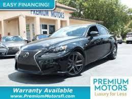 lexus is 250 warranty used lexus is 250 for sale in fort lauderdale fl cars com