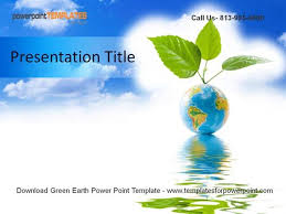 templates powerpoint earth green earth powerpoint template authorstream
