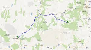 Telluride Colorado Map by Cross Country Day 8 U2013 Telluride Co To Las Vegas Nv Tales Of A